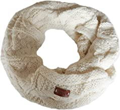 cream knitted snood
