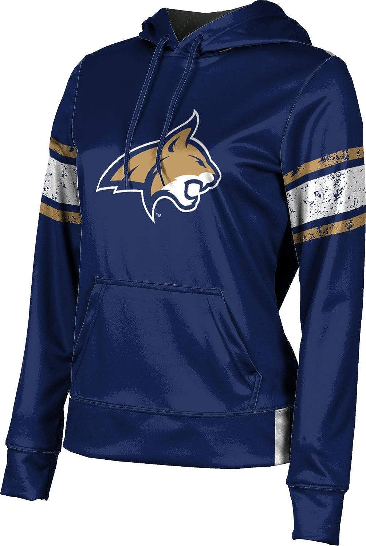 ProSphere Montana State University Girls' Pullover Hoodie, School Spirit Sweatshirt (End Zone)
