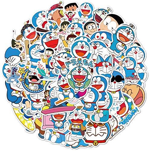 Lindo Dora Doodle pegatinas taza a Dream casco equipaje portátil impermeable extraíble pegatinas 50 piezas