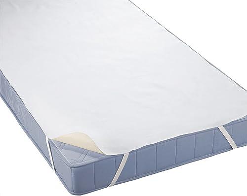 biberna Sleep & Protect 0808315 Surmatelas / protège-matelas Molton (imperméable au sang, à l'urine et à l'eau) 1x 10...