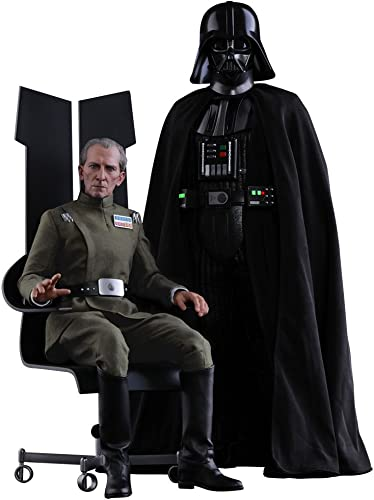 Hot Toys Movie Masterpiece Star Wars Episode IV A New Hope  Gründ Kinder Handschuhe Moff Tarkin & Darth Vader
