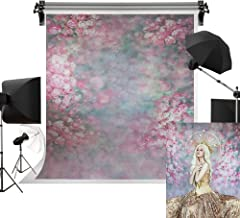 Kate 10x10ft/3x3m Texture Portrait Background Flower Wall Backdrop Photography Backdrops Abstract Background Photography Studio Props for Photographer