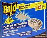 RAID Emanatore Elettrico Antizanzare + 10 Piastrine