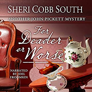 For Deader or Worse audiobook cover art
