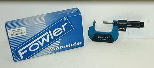 Fowler 52-244-625 E-Z Read Single Ball Micrometer 0-25mm