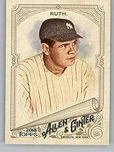 2018 Allen and Ginter #3 Babe Ruth New York Yankees Baseball Card - GOTBASEBALLCARDS