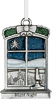 DANFORTH - Silent Night 2018 Annual Ornament - Pewter - Handcrafted - 2 3/8 Inches - Made in USA