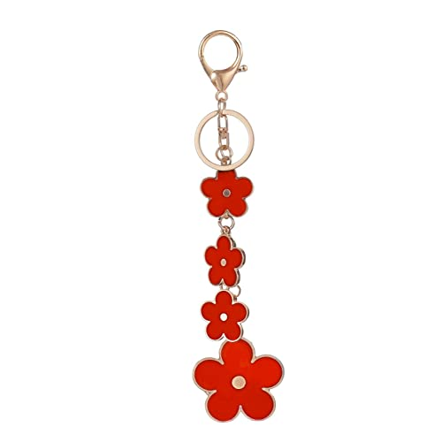 337d504f8 Giftale Women's Flower Bag Charms Enameled Keychain Purse Accessories,