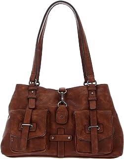 Tamaris Bernadette Shoulder Bag Cognac