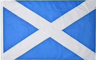 Green Grove Products Scotland 3x5 Ft 210D Nylon Premium Outdoor Embroidered Scottish Flag