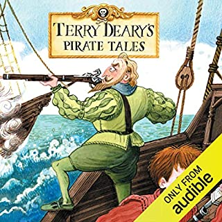 Terry Deary's Pirate Tales: Pirate Lord, Pirate Queen, Pirate Prisoner & Pirate Captain cover art