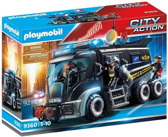 Rare PLAYMOBIL Tactical Washington Mall Unit Truck