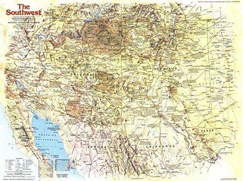 Reproduktion eines Poster Präsentation–USA–Southwest 1(1982)–61x 81,3cm Poster Prints Online kaufen