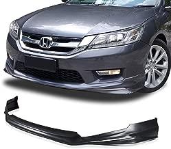PULips JDM Modulo Style Front Bumper Lip for Honda Accord SEDAN 13-15 (Front Lip)