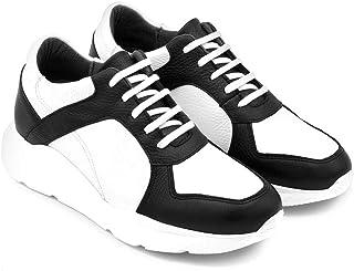 Zapatos de Hombre con Alzas Que Aumentan Altura hasta 7 cm. Fabricados EN Piel. Modelo Illinois