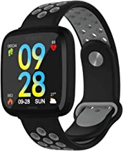Fitness Tracker 1.69 Touchscreen Fitness Smart Horloge Activity Tracker Slaap Monitor Stap Calorie Teller Stappenteller Wa...