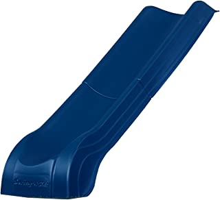 Swing-N-Slide NE 4701 Summit Slide 2-Piece Plastic Scoop Slide for 4' Decks with, Blue