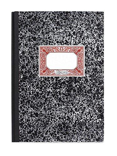 Miquelrius - Cuaderno Cartoné Folio, 100 hojas, Rayado Horizontal 7 mm, Tapa de cartón extraduro encolado