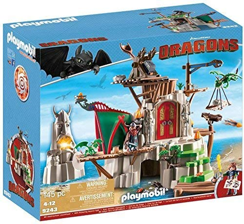 Playmobil - 9243 - Dragons - Campement de l'île de Beurk