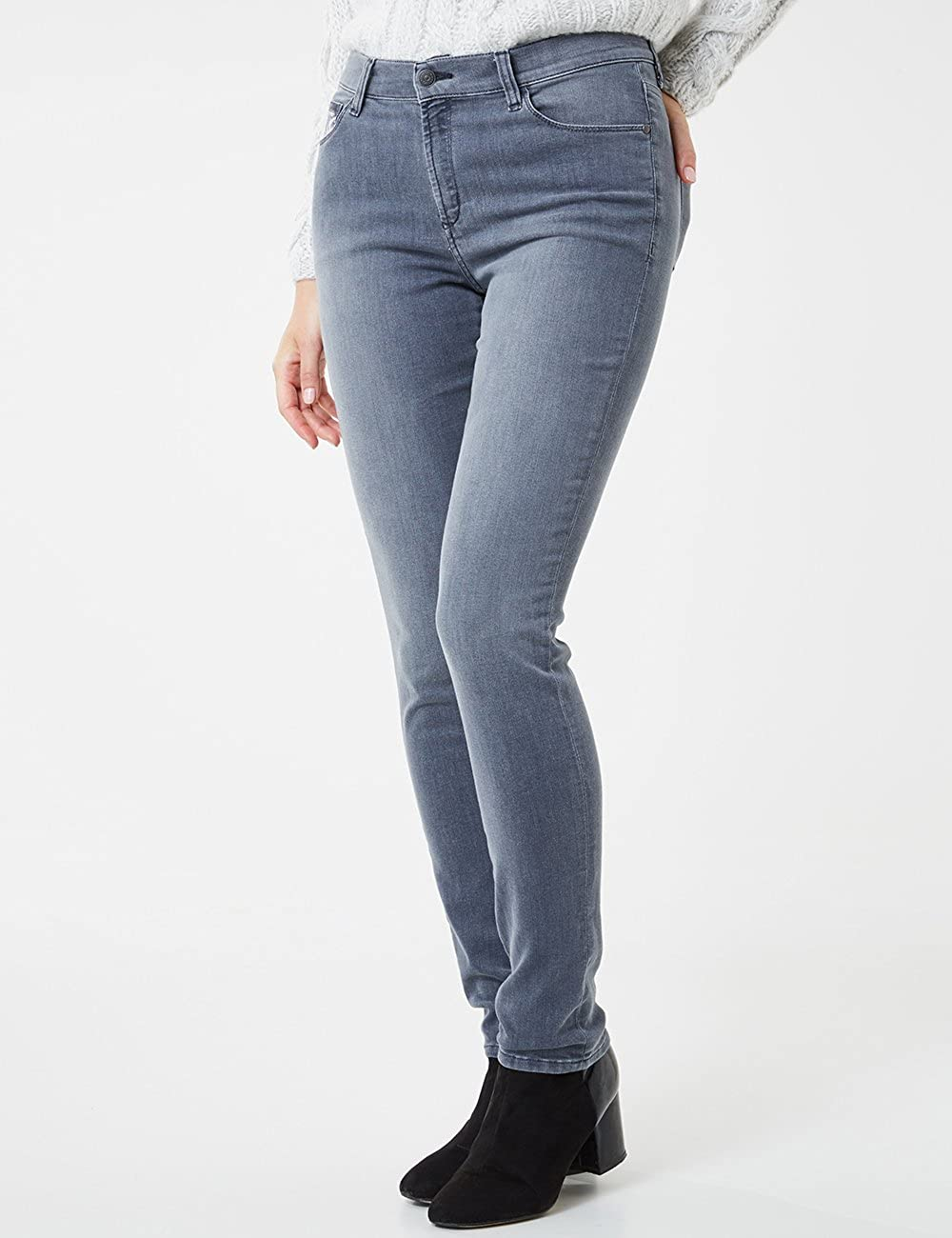 Pioneer Katy Jean Coupe Skinny Femme Gris (Grey Soft Used With 3d Buffies, Foilprint 120)