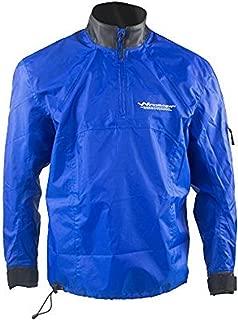 WindRider Waterproof Paddling Sailing Spray Top | Neck Wrist Seals | Front Zipper | Shoulder Pocket