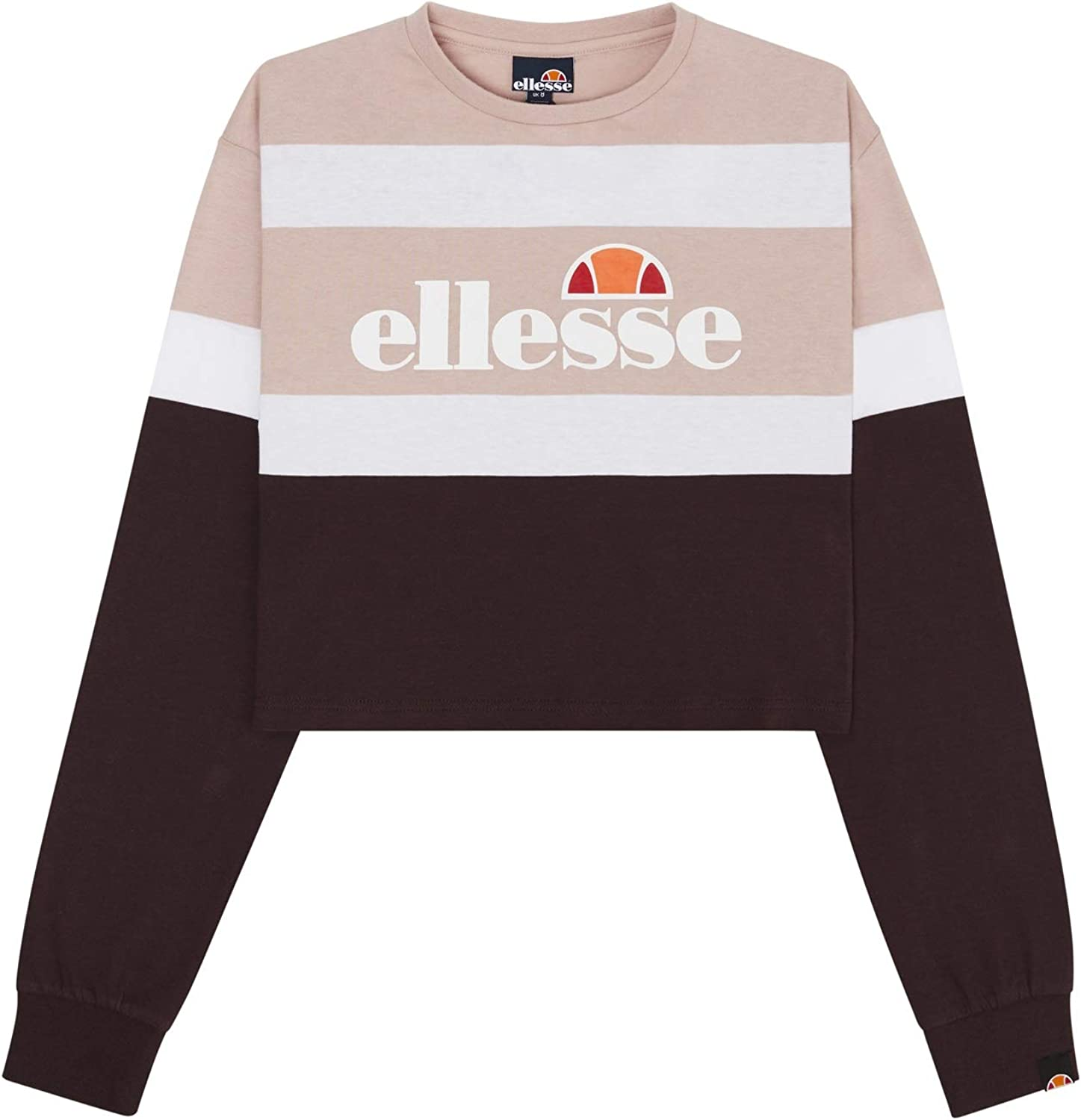 ellesse Max 76% OFF Women Long-Sleeve T-Shirt Color:Pink Vernes LS Size:8 New product