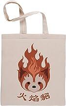 Leyenda de Korra Fuego Los Hurones Pro flexión Emblema Bolsa De Compras Shopping Bag Beige