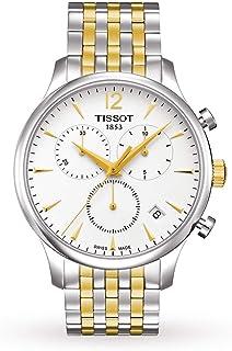 تيسوت ساعة رسمية رجال انالوج بعقارب ستانلس ستيل - T0636172203700