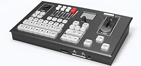 AVMATRIX PVS0605 6CH Multi-Format Video Switcher Portable Design 6 Channel inputs: 4×SDI and 2×DVI-I/HDMI/VGA/USB