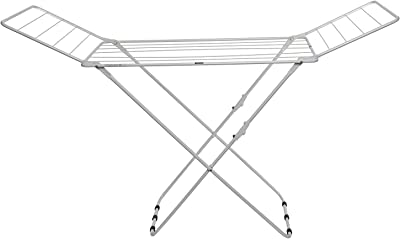 PAffy Expanding Clothes Drying Stand - Three Way Folding - Random Color Combination