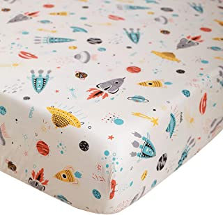 NightComfort Foldable Baby and Toddler Travel Cot Bed Mattress Breathable Quilted and Waterproof 120x60x7.5cm// 60x60x15cm