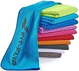 Kühlendes Handtuch 120x35cm, Mikrofaser Sporthandtuch kühlend, Kühltuch, Cooling Towel,...