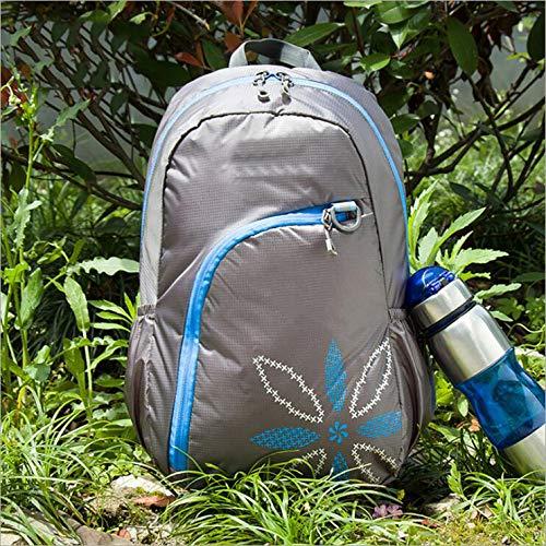 Yarmy Outdoor Rucksack,Faltbarer Rucksack ultraleichte Reisetasche Reisetasche Männer und Frauen Bergsteigen Tasche Notebook