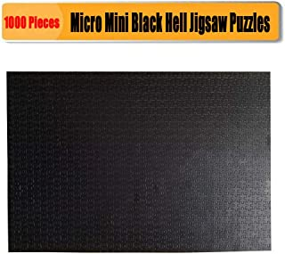Jigsaw Puzzles 1000 Pieces for Adults CHengQiSM Micro Puzzles Black Hell Jigsaw Puzzles 14.96 x 10.23 Inches