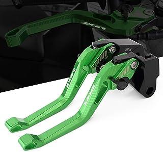 Moto Kit court Levier dembrayage et levier de frein pour Kawasaki ZX6R//636 2007-2014 ZX-10R 2006-2015 Z1000 2007-2015 Z1000SX 2011-2015 Z750R 2011-2012