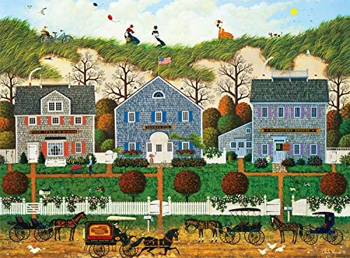 Buffalo Games Charles Wysocki Nantucket Winds 1000 Piece Jigsaw Puzzle product image