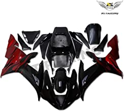 NT FAIRING New Black Red Injection Mold Fairing Fit for Yamaha 2002 2003 YZF R1 R1000 YZF-R1 New Painted Kit ABS Plastic Motorcycle Bodywork Aftermarket