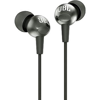 JBL C200SI Super Deep Bass in-Ear Headphones with Mic (Gun Metal)