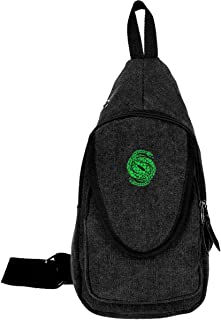 Mniunision Des-Tiny 2 Gambit Logo (2) Fashion Sling Backpack,Casual Crossbody Bags Canvas Backpack Oblique Chest Pack