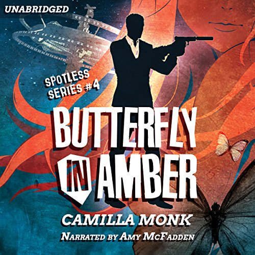 Butterfly in Amber audiobook cover art