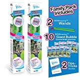 Product Image of the WOWMAZING Giant Bubbles Family Pack - Best Value - Big Bubbles kit Including Big...