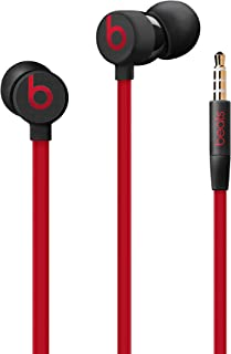 Urbeats3 Wired Earphones With 3.5mm Plug - Tangle Free Cable, Magnetic Earbuds, Built In Mic And Controls - Defiant Black-Red
