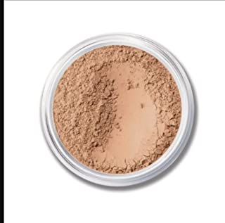 ASC Minerals Foundation Loose Powder 8g Sifter Jar- Choose Color,free of Harmful Ingredients (Compare to Bare Minerals Matte and Original or Mac Makeup) (Beige Medium tone -Luminous)