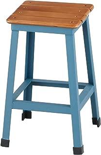 アビテ ディヴィゼ・ウッドボードスツール ブルー ZS-701-BL