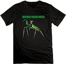 Qincent Man Pre-cotton T-shirts Northern Praying Mantis