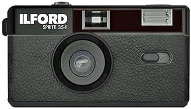 Ilford Sprite 35-II Reusable/Reloadable 35mm Analog Film Camera (Black)