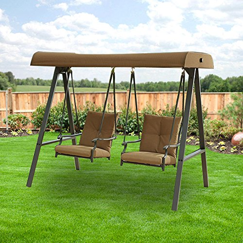 Garden Winds Emery Swing Replacement Canopy Top Cover - RipLock 350