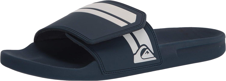 Quiksilver Men's Rivi Adjust Max 61% OFF Alternative dealer Sandal Slide