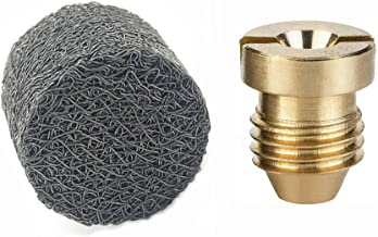 Stone Banken 1.1mm Foam Cannon Orifice Nozzle Tips en Foam Maker, Vervangende Accessoires voor sneeuw Foam Cannon 1 Pair