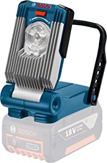 Bosch 601443400 Gli Variled Cordless Li-Ion Torch, 14.4V/18V, 130mm Length, Navy Blue